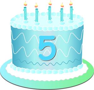 Birthday Cake Celebration Clip Art