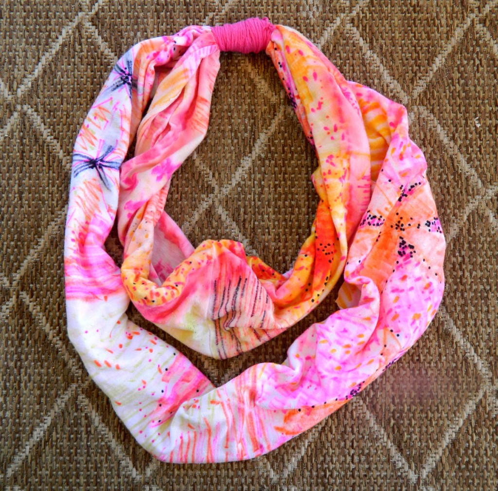 DIY anthropologie scarf 2