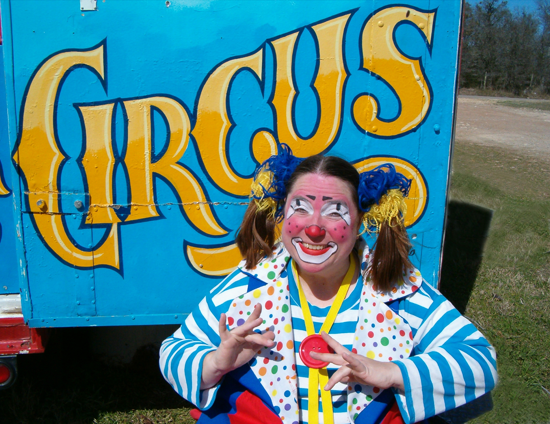 Skeeter The Clown Will Be Visiting The Library To Get Us All Into The  Circus Mood