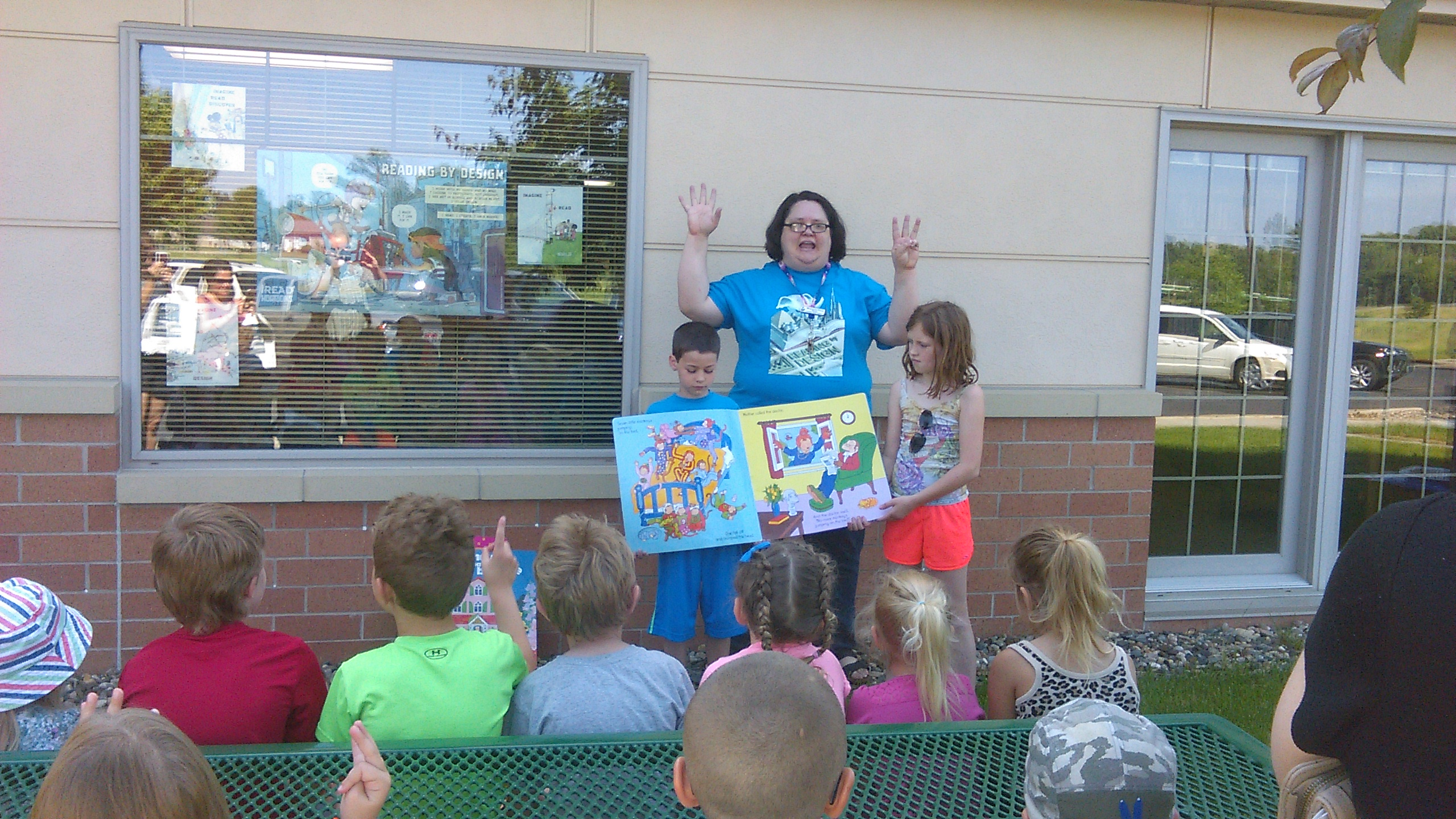 Color book party mn - We Started The Day With A Special Outdoor Storytime With Really Big Books